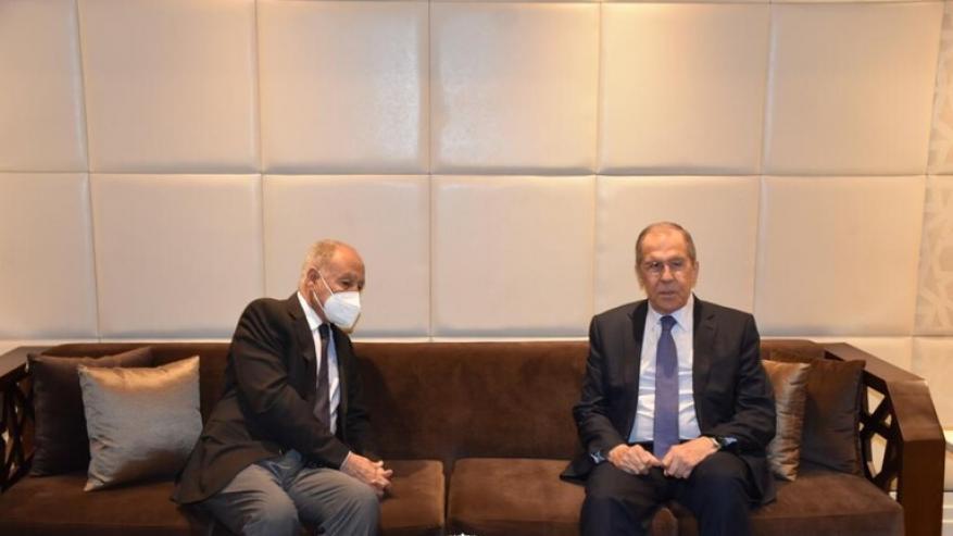 أبو الغيط ولافروف يبحثان السلام في الشرق الأوسط والأوضاع الإقليمية