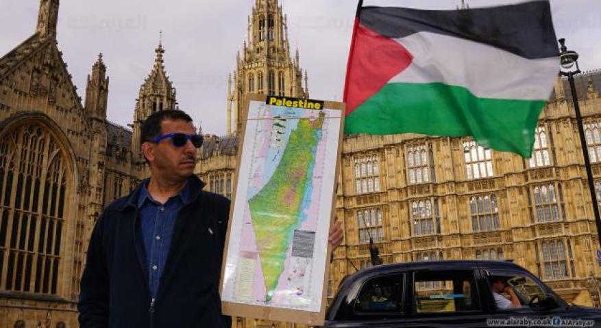 """عن شعلة نضال """"فلسطينيي بريطانيا"""" التي لم تنطفئ منذ قرن"""