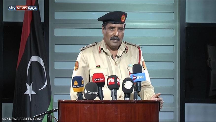 قوات حفتر تتهم حماس بالتورط في ليبيا