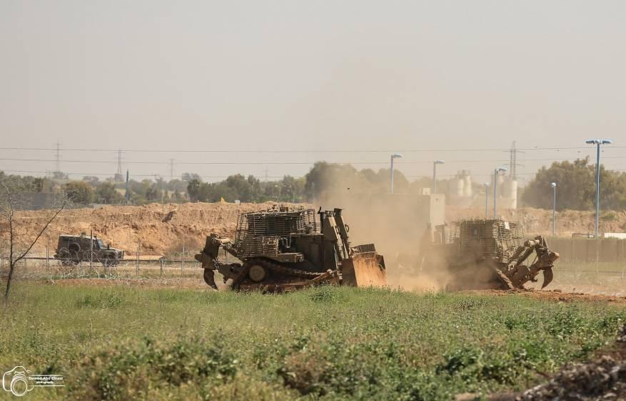 توغل محدود وأعمال تجريف إسرائيلية شمال قطاع غزة