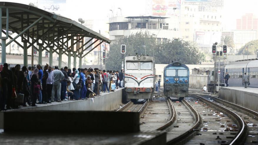 شاهد.. حمار يستقل قطار ركاب في مصر وصاحب الحيوان يهدد بالانتحار