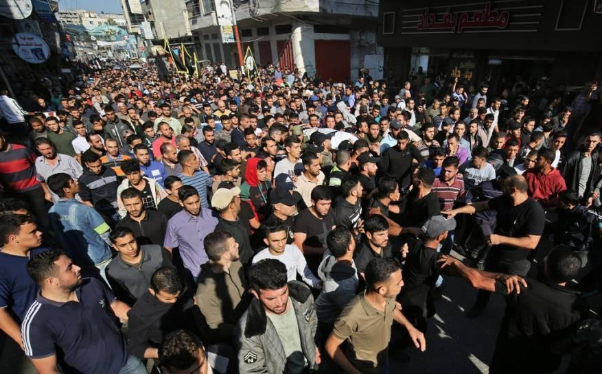 34 شهيدًا حصيلة العدوان الإسرائيلي على غزة حتى اللحظة