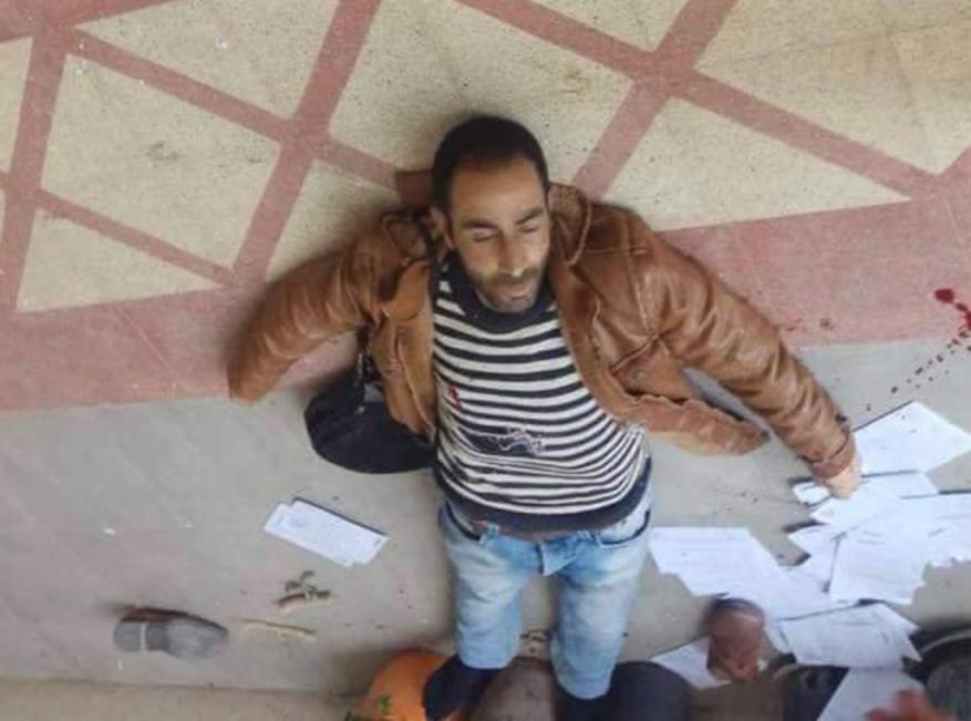 استشهاد شاب برصاص الاحتلال بزعم محاولته تنفيذ عملية طعن بالخليل