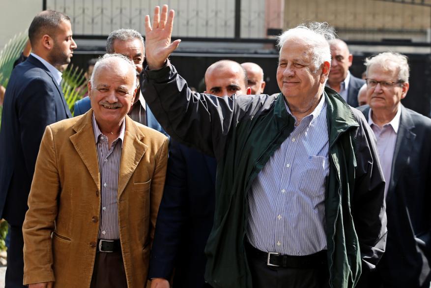 وفد من لجنة الانتخابات الفلسطينية يصل غزة