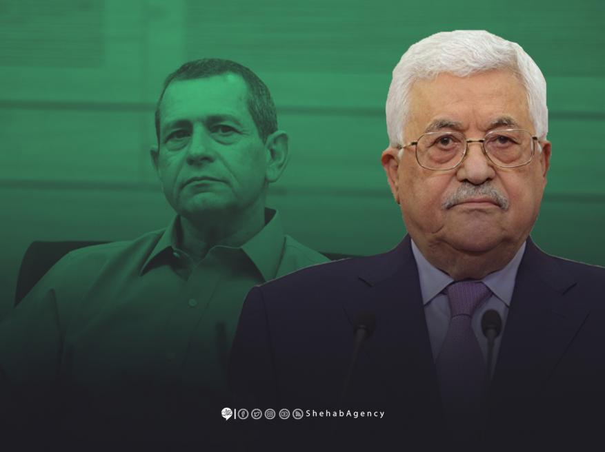 لقاء سري جمع عباس برئيس الشاباك
