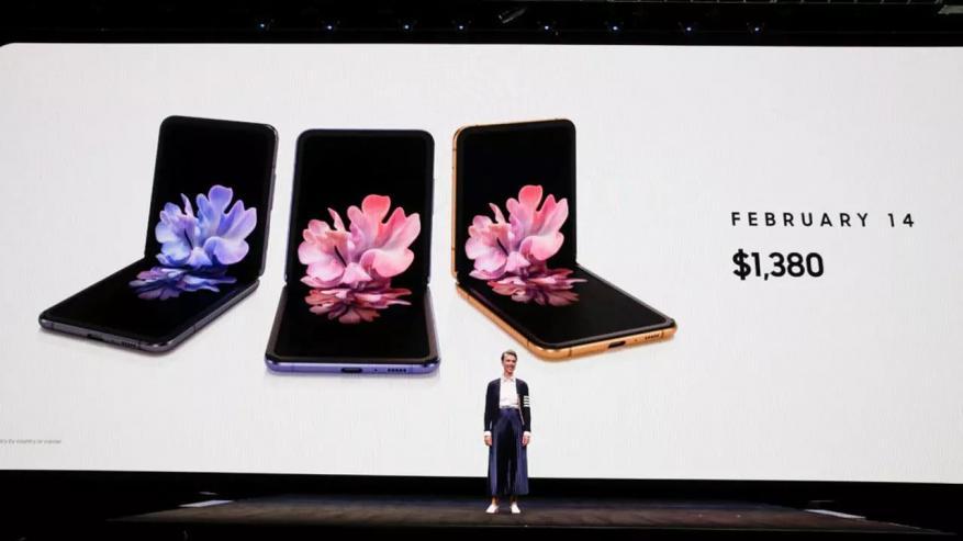 سامسونغ تتحضر لإطلاق هاتف 5G قابل للطي