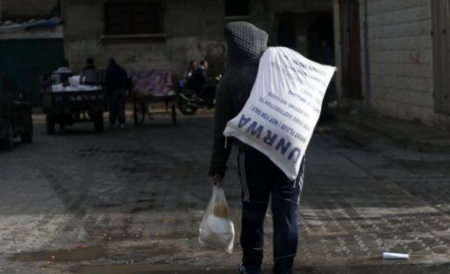 """""""أونروا"""" تستأنف فتح 11 مركز توزيع مساعدات بغزة الأحد"""