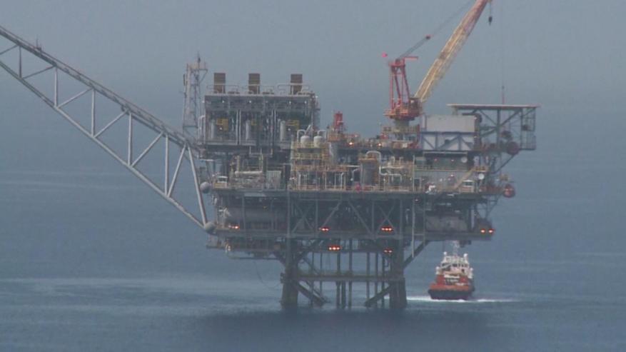 انفجار داخل منصة إيرانية لاستخراج الغاز في مياه الخليج