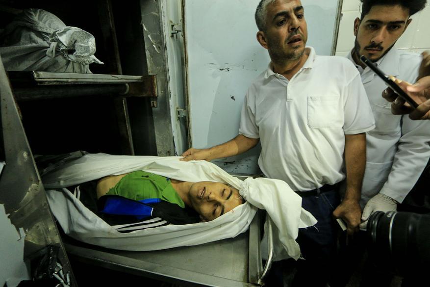 شهيد برصاص الاحتلال وسط قطاع غزة
