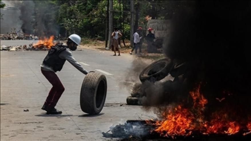 الأمم المتحدة: ارتفاع قتلى المتظاهرين ضد انقلاب ميانمار إلى 568
