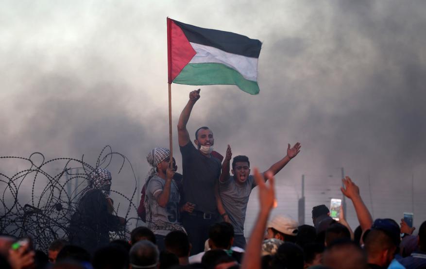 """غزة تستعد لفعاليات جمعة """"معًا لمواجهة التطبيع"""" ضمن مسيرات العودة"""