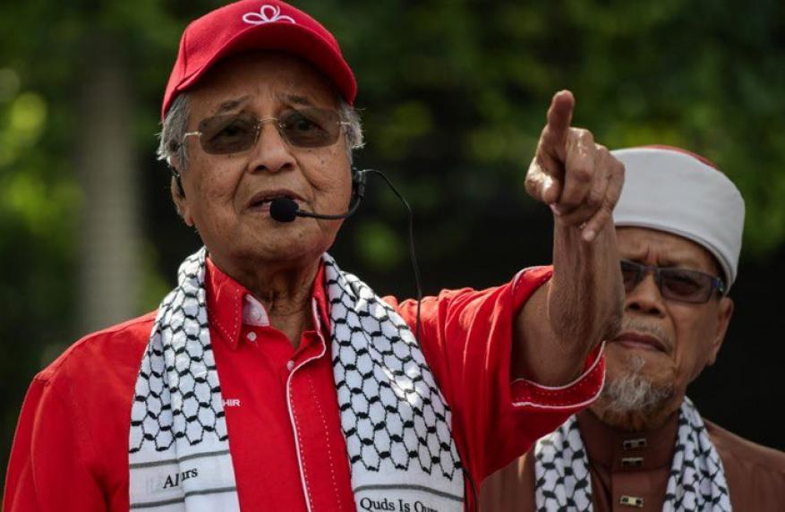 مهاتير محمد: لا مكان للرياضيين الإسرائيليين في ماليزيا