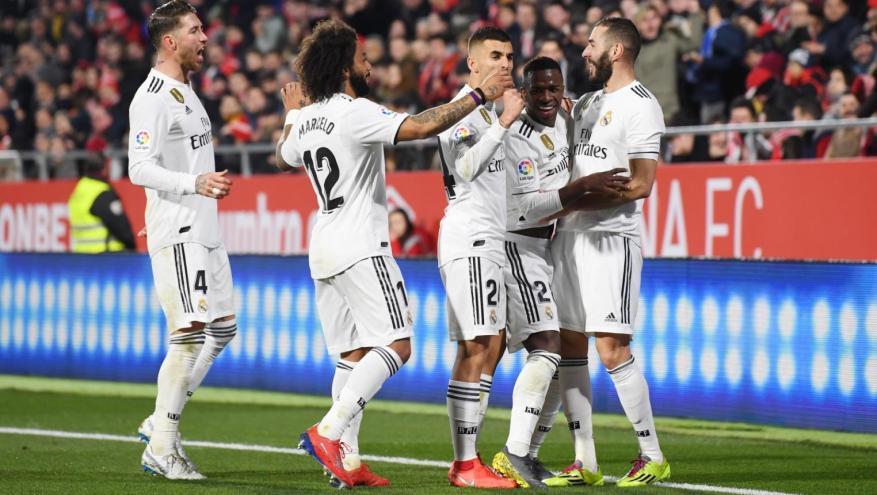 ريال مدريد يحقق فوزه الرابع توالياً