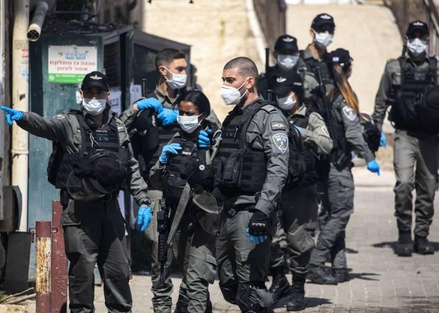 شارك بحفل فيه ريفلين وغانتس.. إصابة قائد شرطة حرس الحدود الإسرائيلي بكورونا