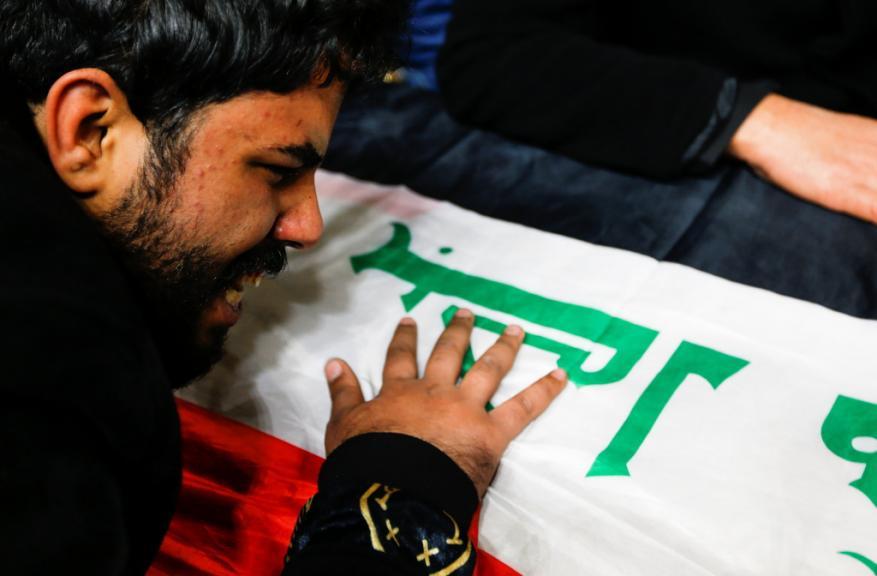 حماس تدين التفجير المزدوج وسط بغداد