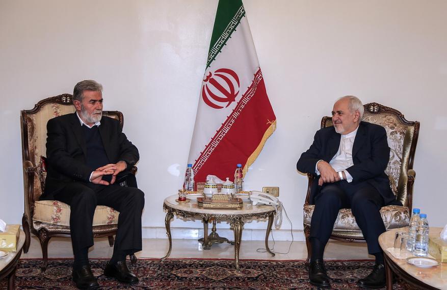 وزیر الخارجیة الایراني يلتقي بالأمین العام للجهاد الإسلامي