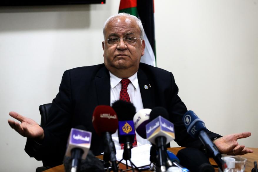 عريقات يطالب العرب بـ100 مليون$ شهريا لمواجهة التحديات