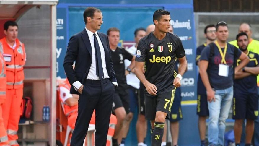 أليغري: رونالدو متواضع ويعرف طبيعة الاختلاف بين الكرة الإيطالية والإسبانية