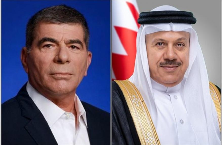 وزير خارجية البحرين يهاتف أشكنازي وتبادلا التهاني