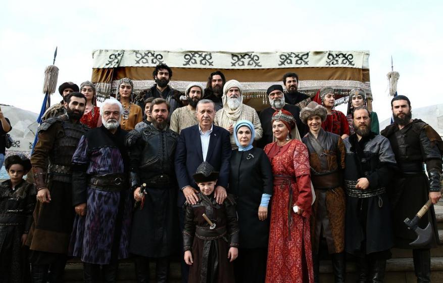 """ما هي علاقة أردوغان بمسلسل """"قيامة أرطغرل""""؟"""