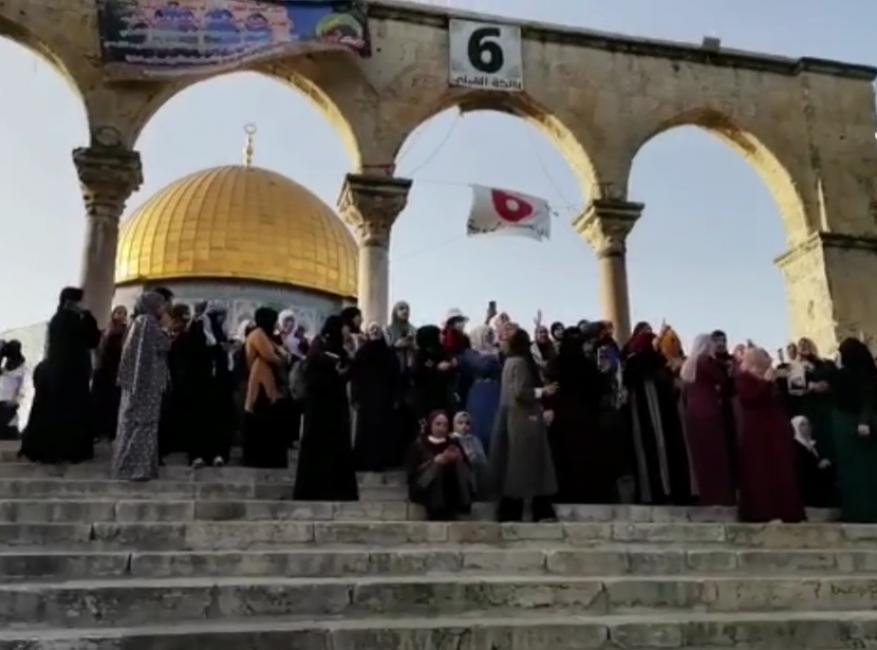 زغاريد واحتفالات في القدس بعد وفاء غزة بوعدها