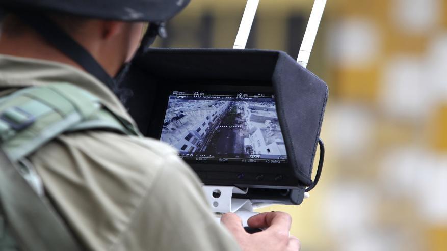 تقرير: الاحتلال يُعزز نصب كاميرات المراقبة المكشوفة والمخفية بالضفة