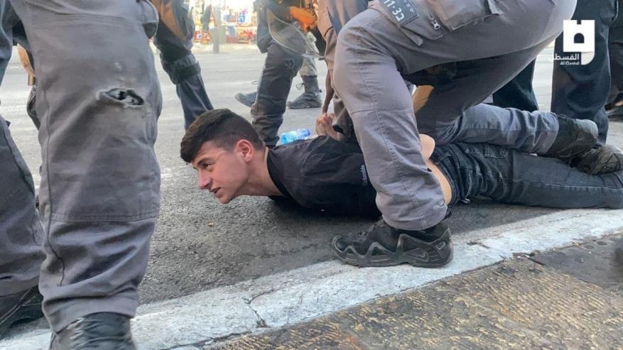 مواجهات واعتقالات في باب العامود إثر التصدي لاقتحام المتطرف بن غفير