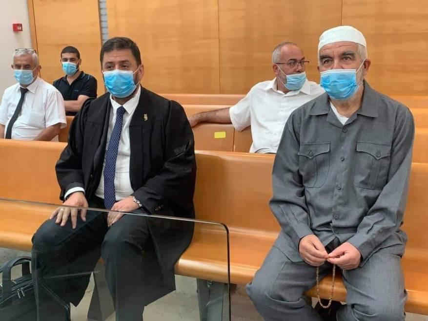 محكمة الاحتلال تنظر اليوم باستئناف الشيخ رائد صلاح على قرار إدانته