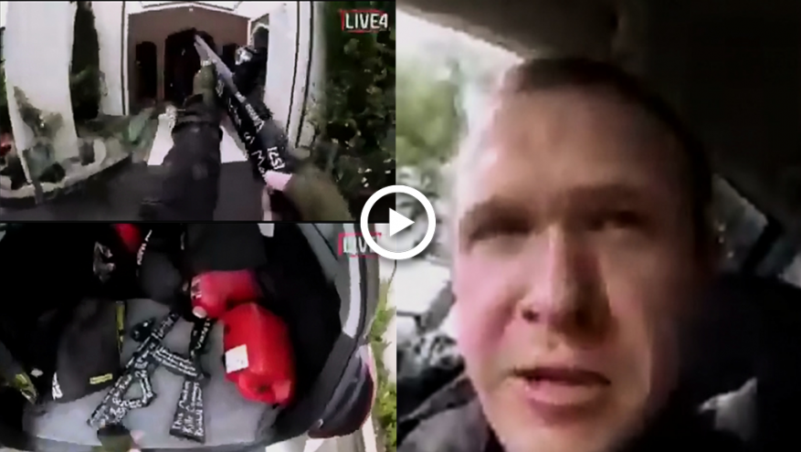 فيديو مرعب.. منفذ الهجوم الدموي على مسجد في نيوزيلندا يوثق جريمته الإرهابية