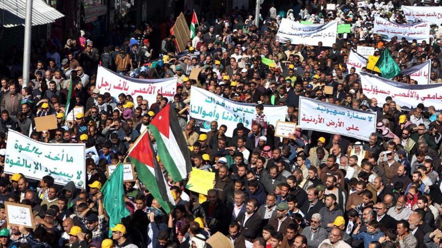 الأردن: لا للوطن البديل والقدس فوق السياسة