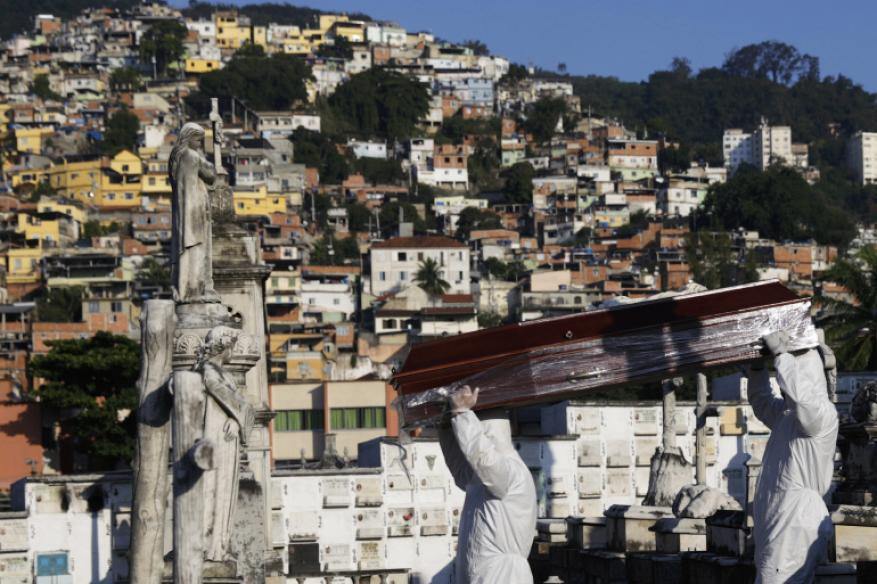 كورونا.. منظمة الصحة تعلن أميركا الجنوبية بؤرة جديدة وترامب يدعو للإكثار من الصلاة