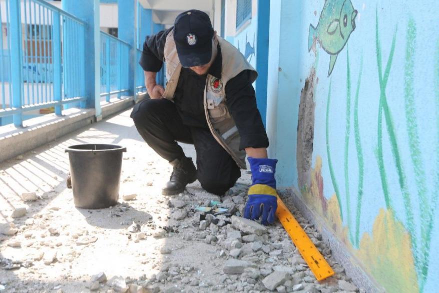 """""""أونروا"""": نحقق في تضرر مدرسة تابعة لنا جراء غارة إسرائيلية"""