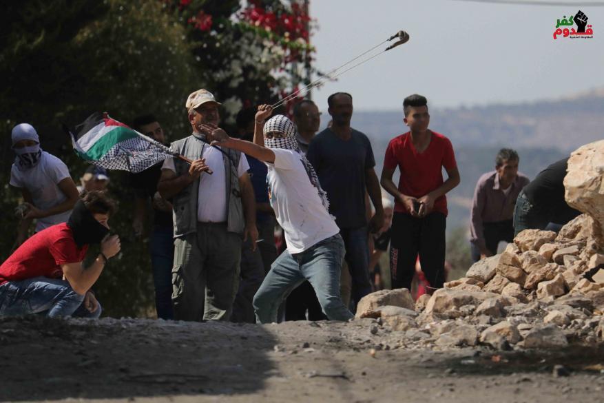 عشرات حالات الاختناق بقمع الاحتلال مسيرة كفر قدوم