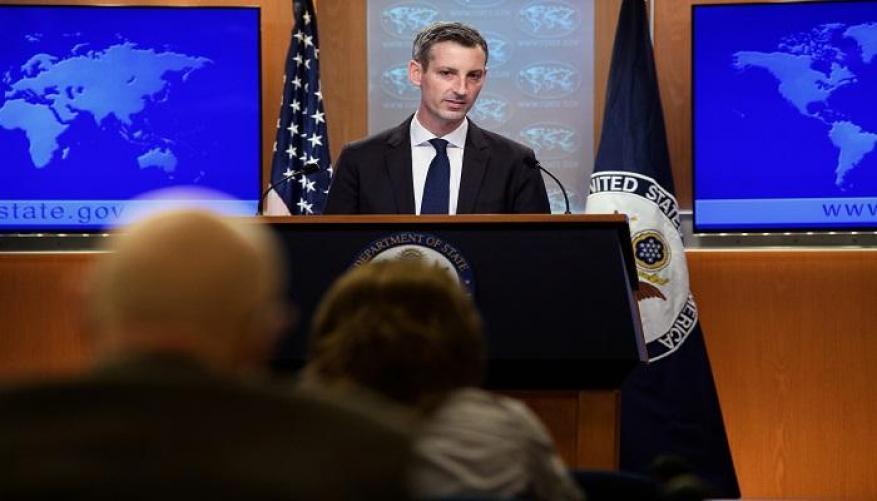 الخارجية الأمريكية للاحتلال: تجنبوا القيام بخطوات أحادية ونسعى لاتفاق سلام تاريخي