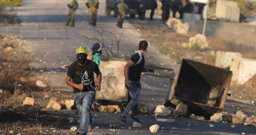 Palestinian child arrested as clashes erupt in Ramallah