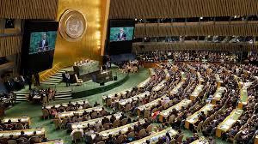الأمم المتحدة تعتمد 8 قرارات لصالح الفلسطينيين والجولان السوري