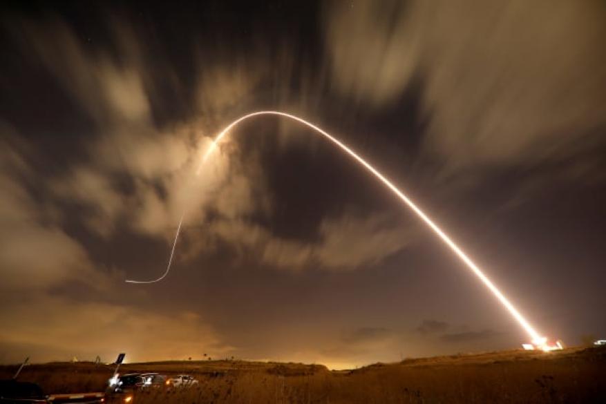 صاروخ من قطاع غزة نحو مستوطنات الغلاف