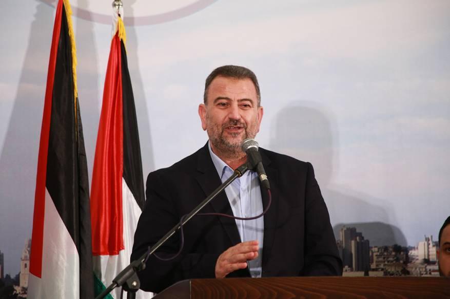 """العاروري: الالتفاف الفلسطيني المُوحّد سيفشل """"صفقة القرن"""" و""""ورشة البحرين"""""""