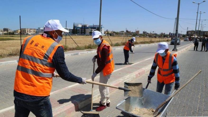"""العمصي: 4 آلاف عامل بغزة سرحوا من أعمالهم منذ بدء أزمة """"كورونا"""""""