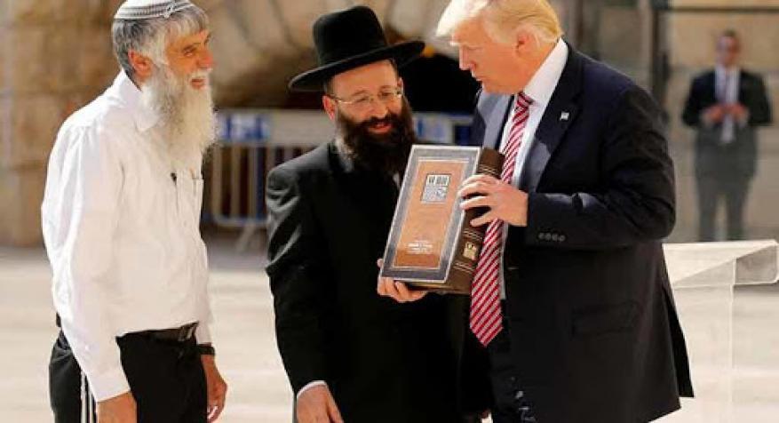 """ترامب: نقل السفارة إلى القدس كان """" للإنجيليين"""" أكثر من اليهود"""