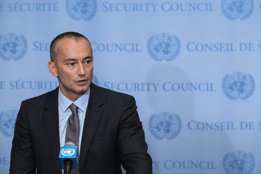 ملادينوف: الأمم المتحدة ومصر عملتا لمنع اندلاع حرب في غزة