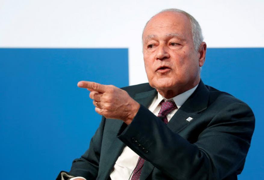 """""""على غرار انفجار لبنان"""".. أبو الغيط يحذر من """"كارثة"""" أخرى على سواحل دولة عربية"""