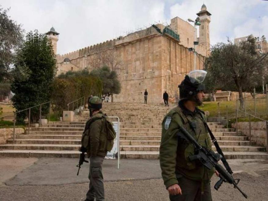 الاحتلال يغلق الحرم الإبراهيمي لمدة 10 أيام