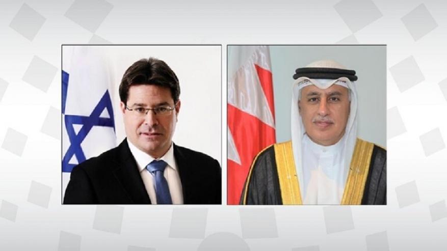 اتصال هاتفي بين وزير الصناعة والتجارة البحريني ووزير التعاون الإقليمي الإسرائيلي
