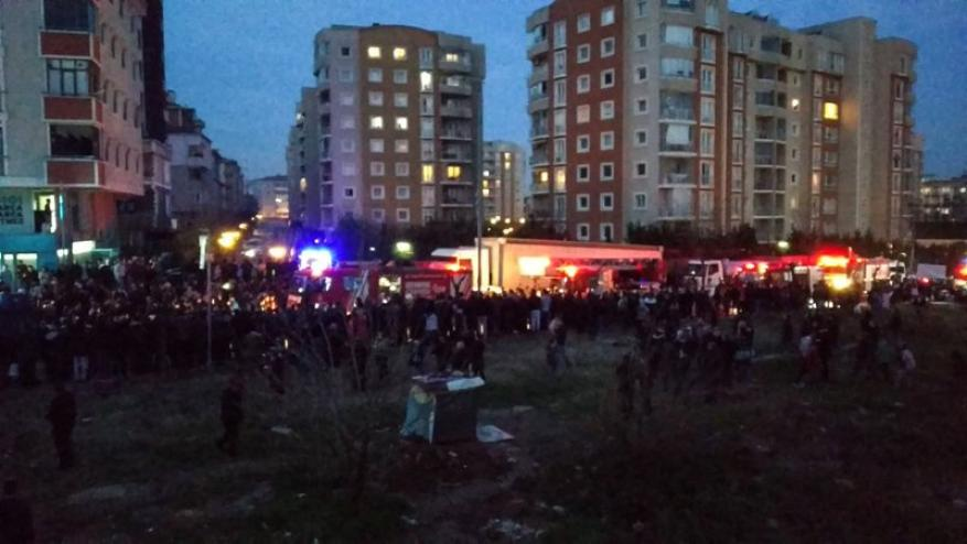 4 قتلى بتحطم مروحية تركية داخل مجمع سكني في إسطنبول