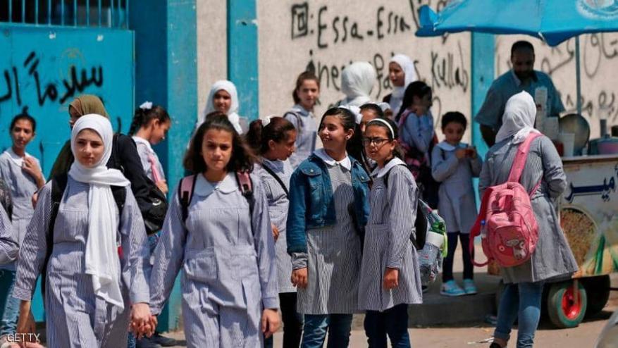 مليون و300 ألف طالب وطالبة يتوجهون إلى مدارسهم في كافة المحافظات الفلسطينية