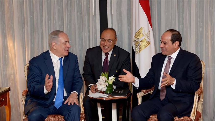 نتنياهو يشارك مصر احتفالها بعيدها الوطني