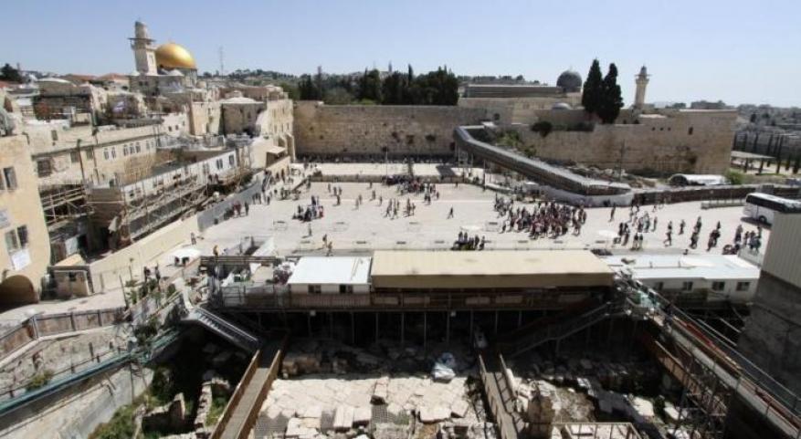 """الأردن يطالب الاحتلال بوقف الحفريات بساحة """"البراق"""" بالمسجد الأقصى"""