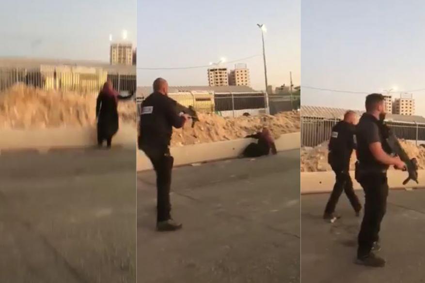 الاحتلال يطلق النار على فتاة قرب حاجز قلنديا شمال القدس (شاهد)