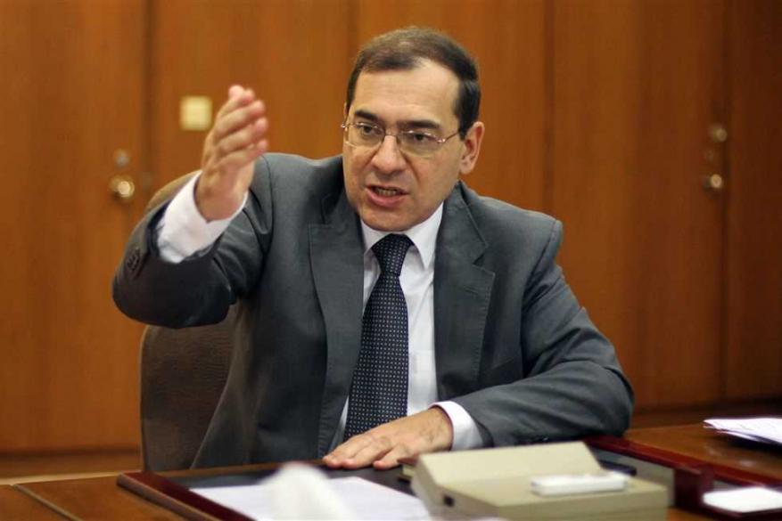 وزير البترول المصري يزور الكيان الإسرائيلي لبحث تطوير حقول الغاز
